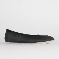 Ballerines de yoga | Noires | Semelle simple