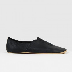 Chaussons de yoga | Mixte | Noir | Semelle simple