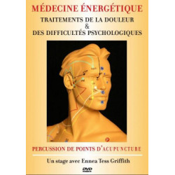 DVD Percussion de points d'acupuncture - Traitement de la douleur