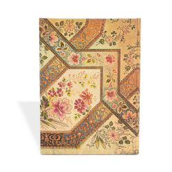Paperblanks Filigrane Florale ivoir /Midi