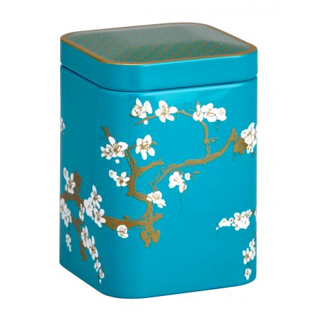 boite th japonaise turquoise 50g eigenart samashop. Black Bedroom Furniture Sets. Home Design Ideas