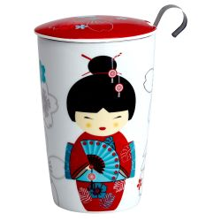 Tisanière Teaeve Little Geisha Red 350ml Eigenart