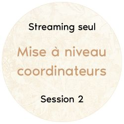 "Streaming et téléchargement audio ""Mise à niveau coordinateurs"", 2018 Session 2"