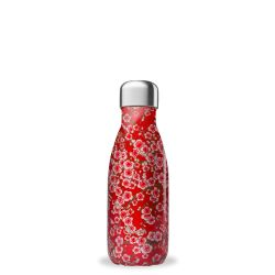 Bouteille isotherme inox 500ml Rose coeur Qwetch