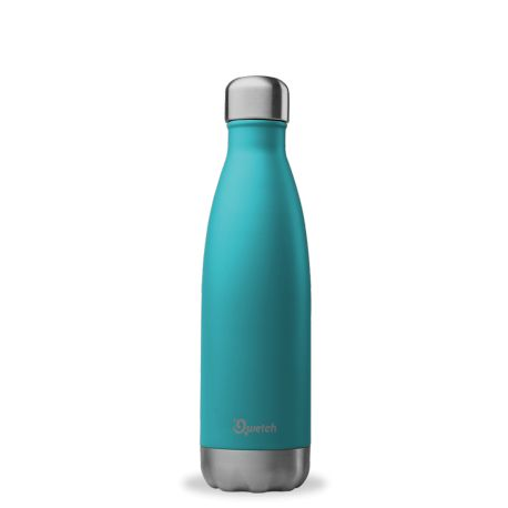 Bouteille isotherme 500ml Inox Qwetch