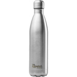 Bouteille isotherme 750ml Inox | Qwetch