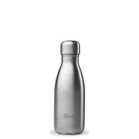Bouteille isotherme 260ml Inox Qwetch