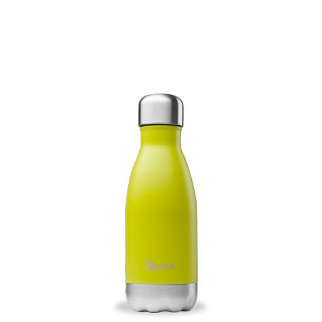 Bouteille isotherme inox 260ml Vert Inox Qwetch