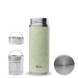 Théière isotherme 300ml inox, collection positive, Qwetch