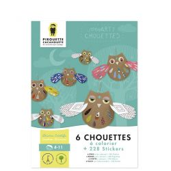 Mes arty Chouettes, Pirouette Cacahouète