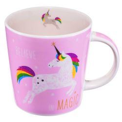 Mug Licorne Rose 350ml PPD