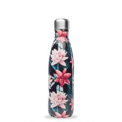 Bouteille isotherme inox 500ml Tropical toucan Qwetch